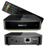 MAG 410 4K UHD Android IPTV/OTT SET TOP BOX
