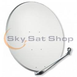 Satellite dish Gibertini 125 cm light grey