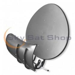Satellite dish Toroidal T90 P dark grey