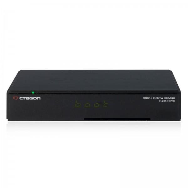 Octagon SX88+ Optima Combo HEVC Full HD Stalker IPTV Multistream DVB-S2/C/T2