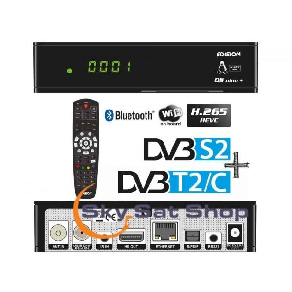 Edision OS NINO+ DVB-S2+DVB-T2/C  enigma2