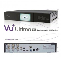 VU+ Ultimo 4K PVR ready Linux Receiver UHD 2160p