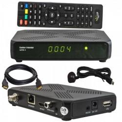 ALPHA X Digital Full HD DVB-S2 H.265 Linux OS Multistream Receiver