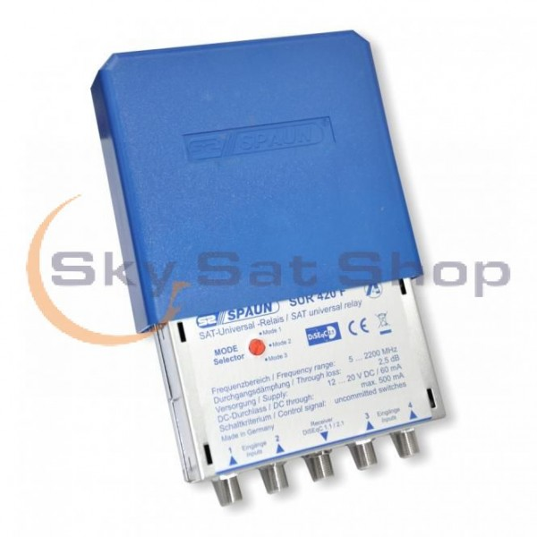 DiSEqC Spaun 4x1 SUR 420 WSG