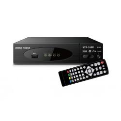 MAXPOWER HD DVB-T2 RECEIVER STB-1680 MPEG2/MPEG4 H.265 1080p/i