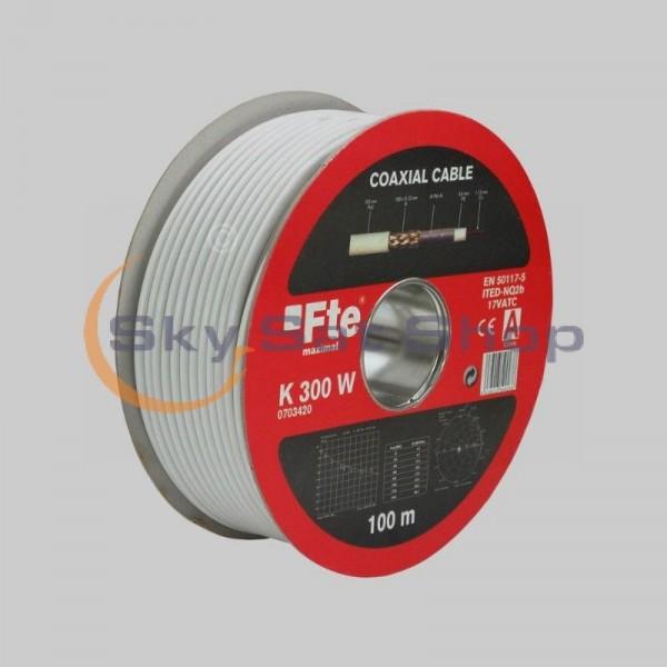 Koaksijalni kabel FTE Maximal K300W-Cu. 100m